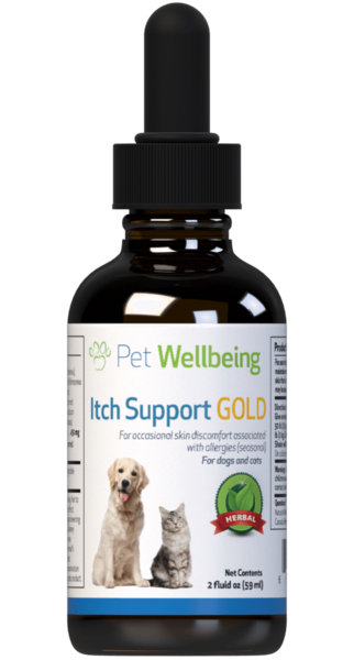 Itch Support Gold for Cats by Pet Wellbeing