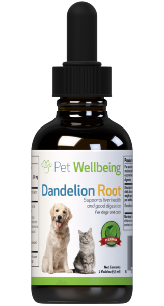 Dandelion Root for Dog Liver Support by Pet Wellbeing