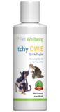 Pet Wellbeing Itchy Owie Quick-Dry Gel for Dogs' Skin, calendula for dog hot spots