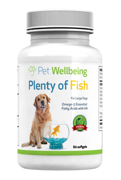 Plenty of Fish Omega-3's for Large Dogs by Pet Wellbeing