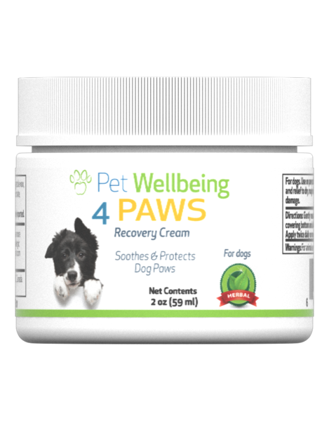 4 Paws Recovery Cream for Dog Paws by Pet Wellbeing