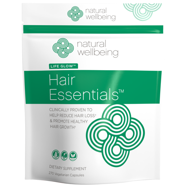 Hair Essentials™ for Healthy Hair (270 capsules, 3 month supply)