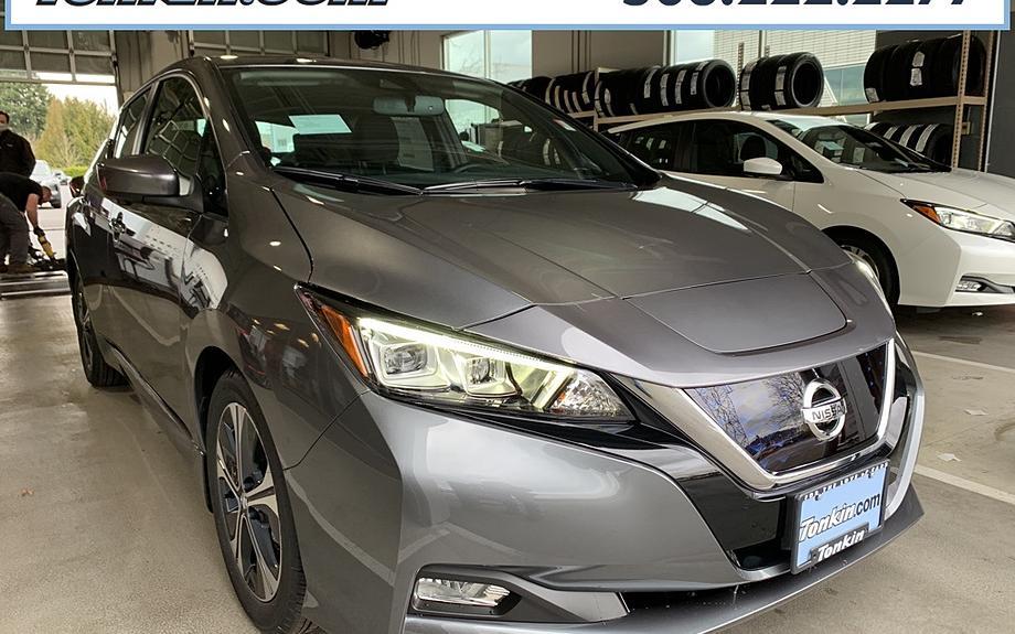New 2021 Nissan LEAF - Tonkin2U Portland, OR