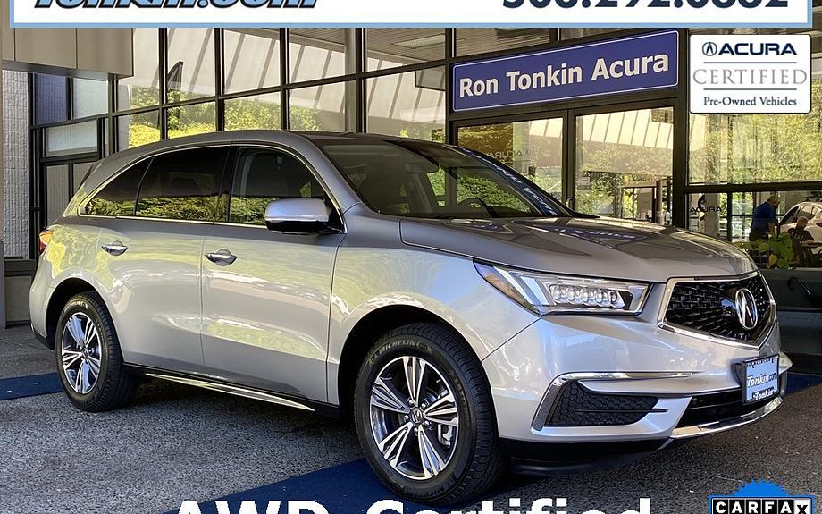 Certified 2017 Acura MDX