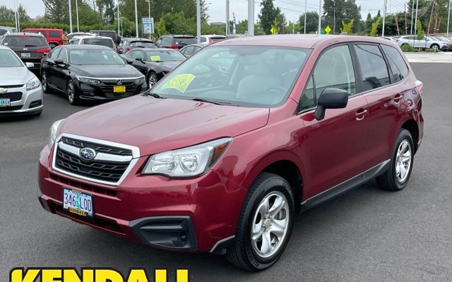Used 2018 Subaru Forester - Kendall Subaru of Eugene Eugene, OR
