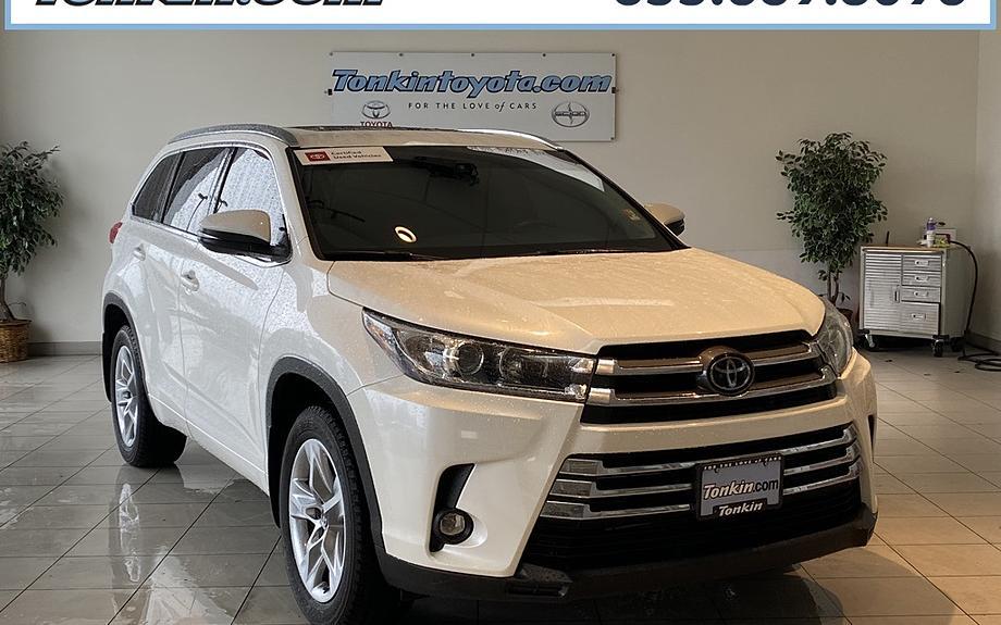 Certified 2019 Toyota Highlander