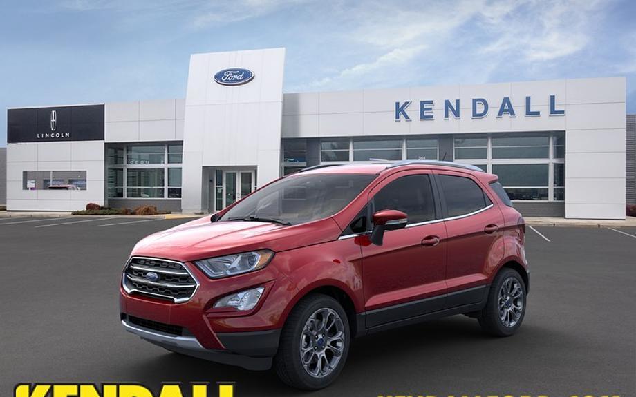 New 2021 Ford EcoSport - Kendall Ford of Eugene Eugene, OR