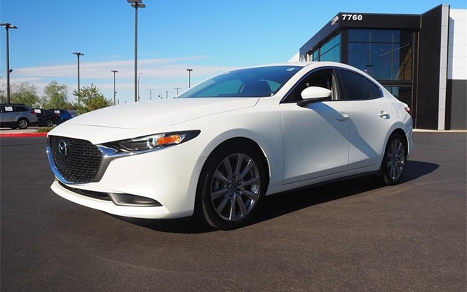 Certified 2020 Mazda Mazda3 Sedan