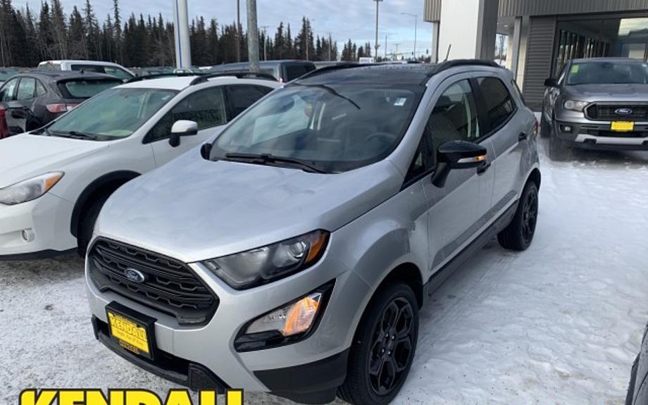 New 2021 Ford EcoSport - Kendall Ford of Kenai Kenai, AK