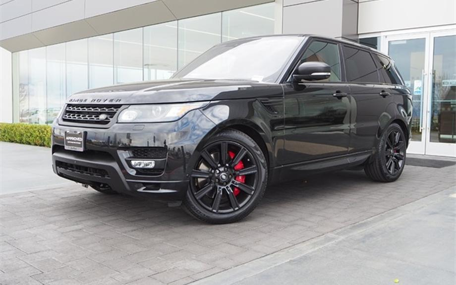 Certified 2017 Land Rover Range Rover Sport Autobiography