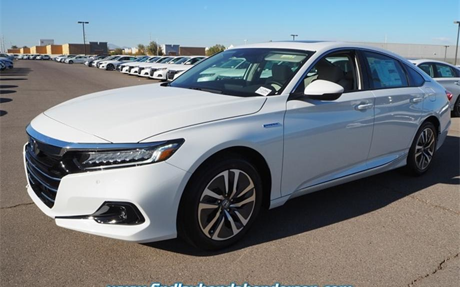 New 2021 Honda Accord Hybrid EX-L