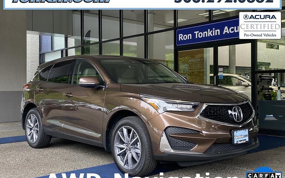 Certified 2019 Acura RDX - Ron Tonkin Acura Portland, OR