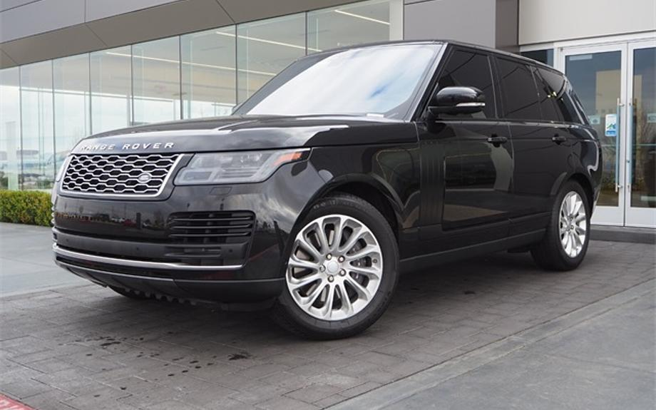 Certified 2019 Land Rover Range Rover HSE