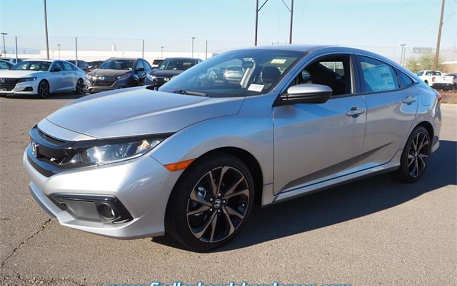 New 2021 Honda Civic Sedan