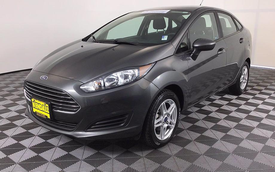 Certified 2018 Ford Fiesta SE
