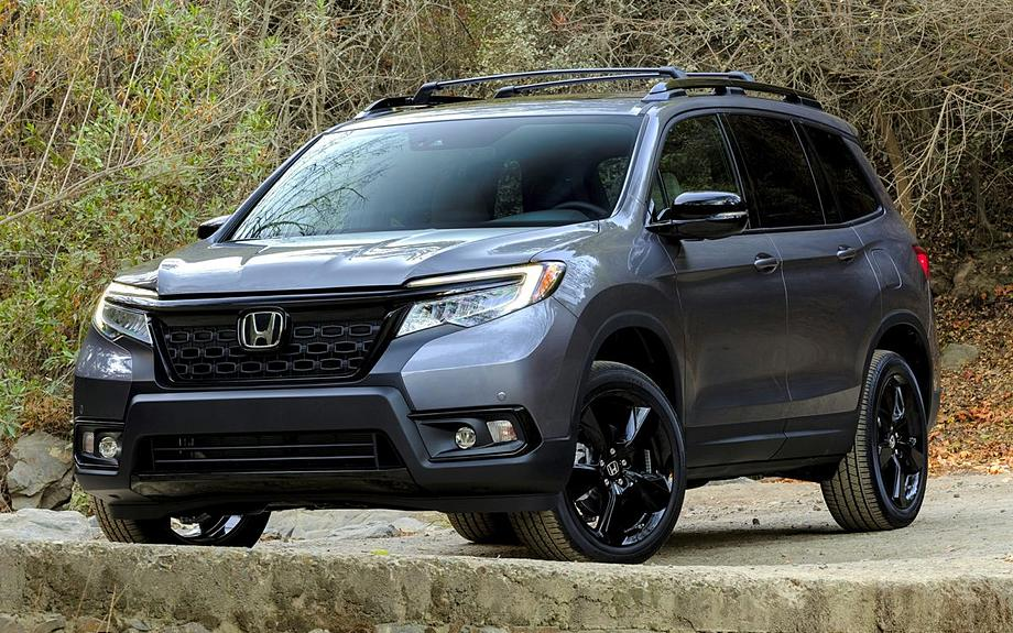 New 2021 Honda Passport Elite