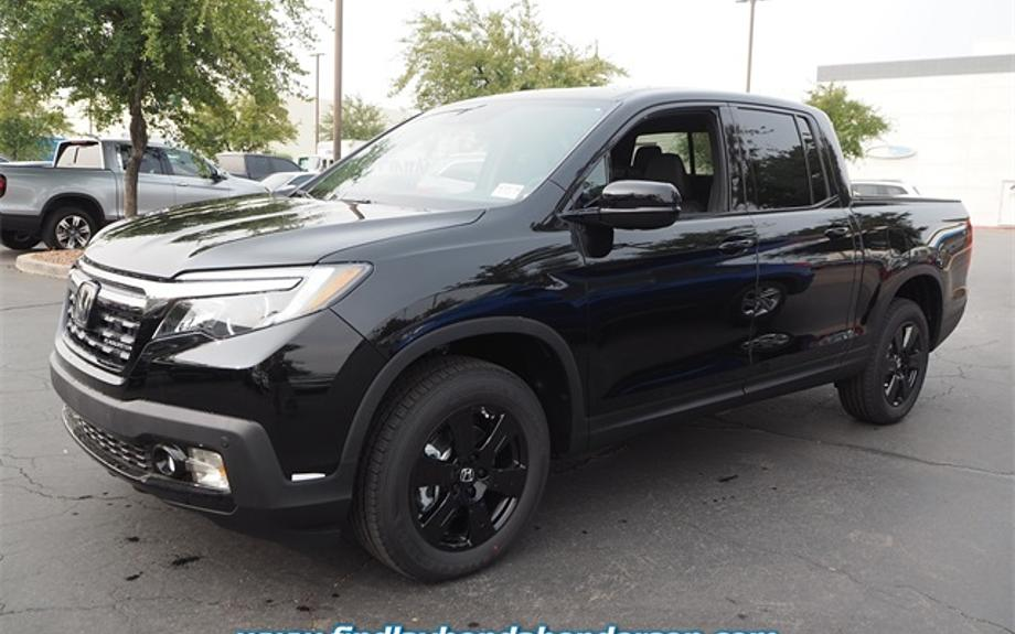 New 2020 Honda Ridgeline Black Edition