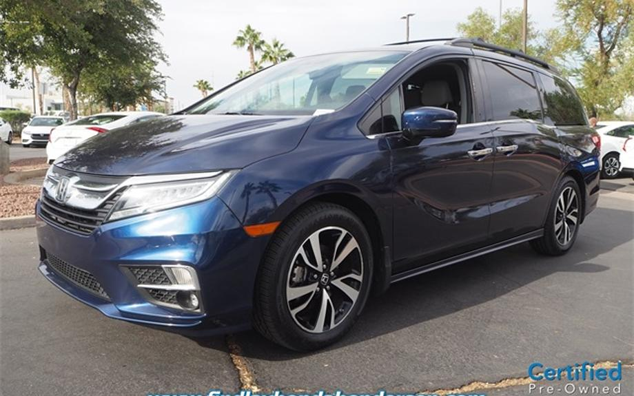 Certified 2018 Honda Odyssey Elite