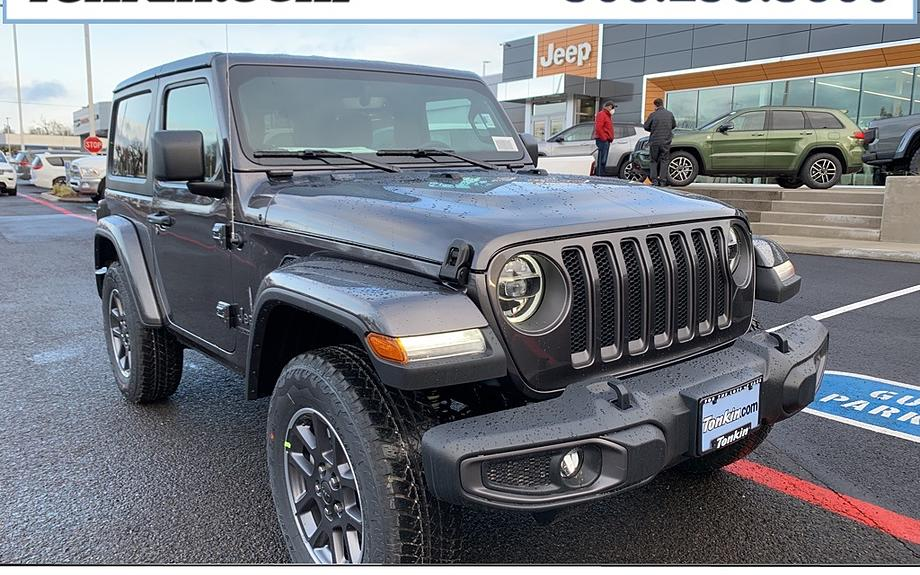 New 2021 Jeep Wrangler 80th Edition