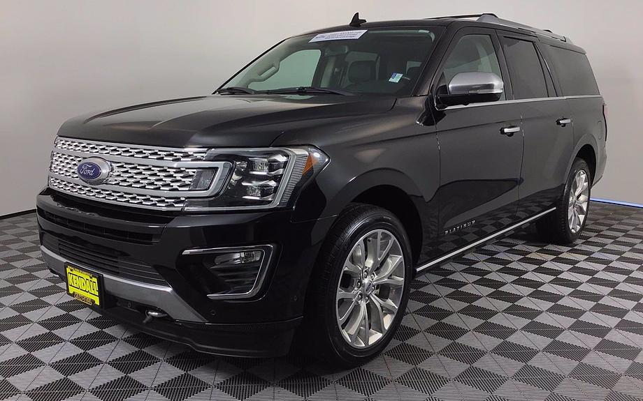 Certified 2019 Ford Expedition Max Platinum