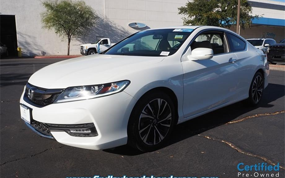 Certified 2017 Honda Accord Coupe EX
