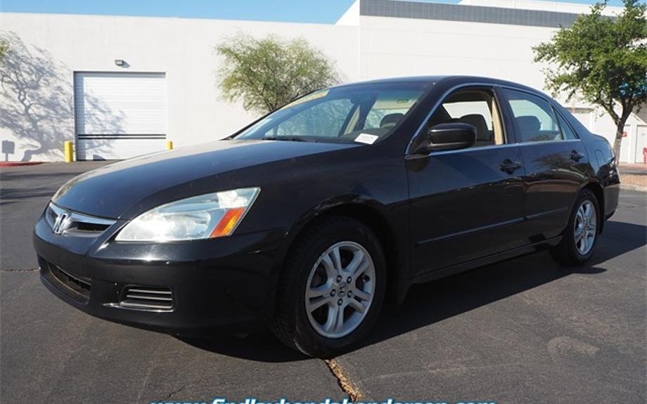 Pre-Owned 2006 Honda Accord Sdn LX SE