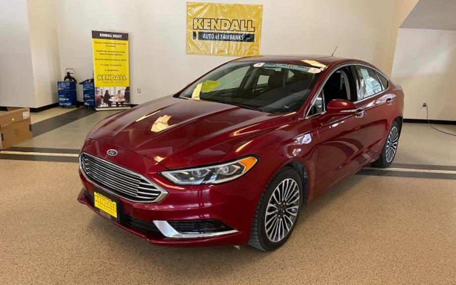 Used 2018 Ford Fusion - Kendall Toyota of Fairbanks Fairbanks, AK