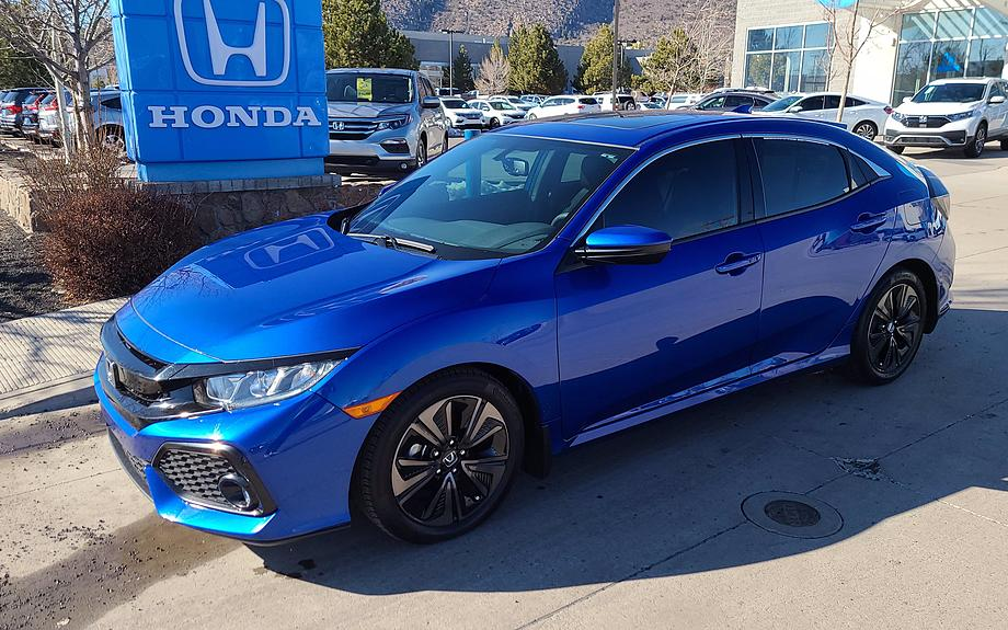 Certified 2017 Honda Civic Hatchback