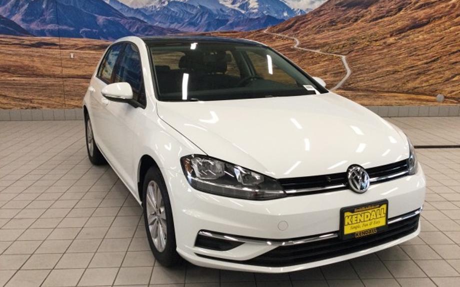 New 2021 Volkswagen Golf - Kendall Volkswagen of Anchorage Anchorage, AK