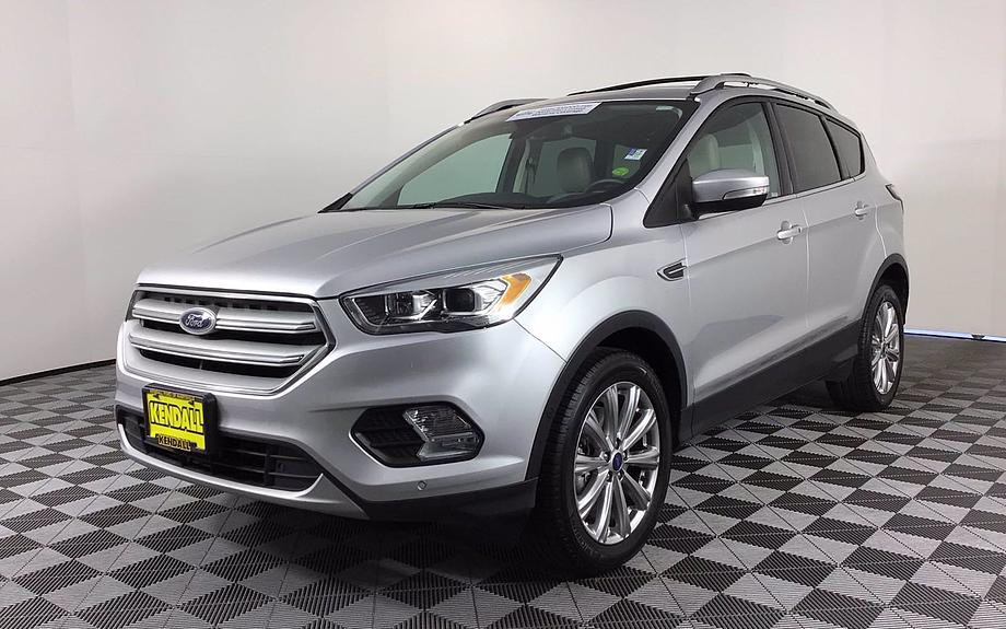 Certified 2018 Ford Escape