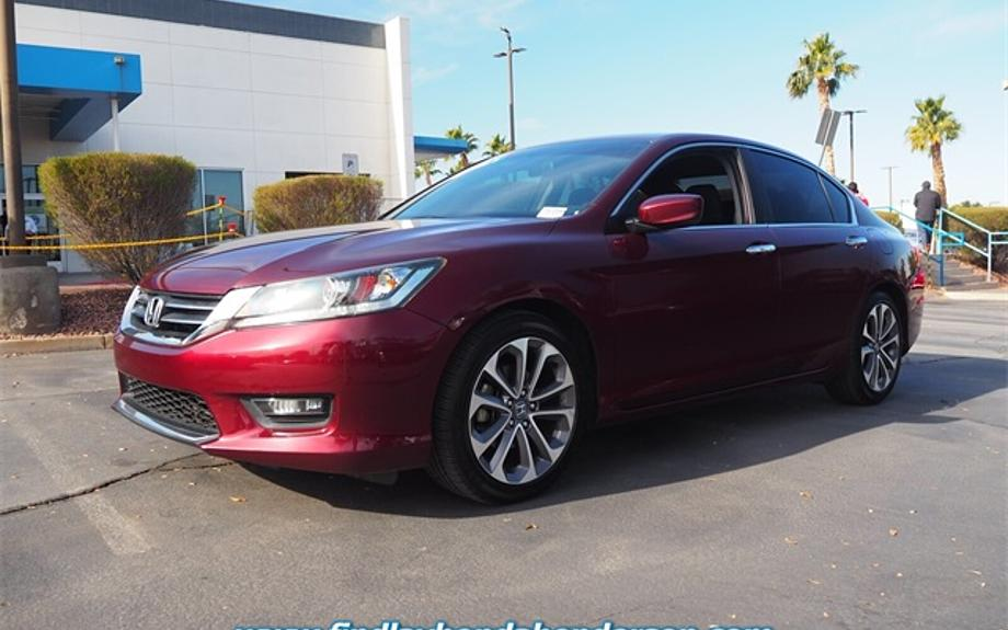 Pre-Owned 2014 Honda Accord Sedan Sport