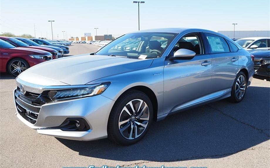New 2021 Honda Accord Hybrid EX