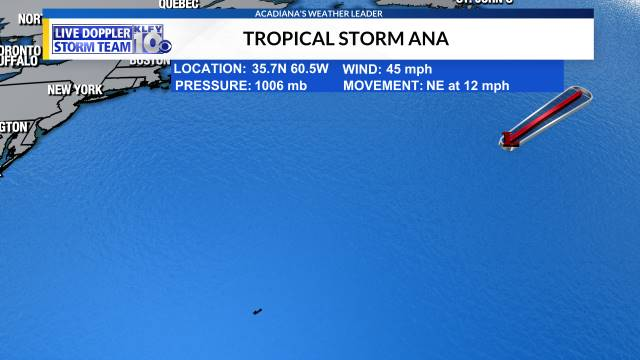 Category 1 Dorian moves over North Carolina coast | KLFY