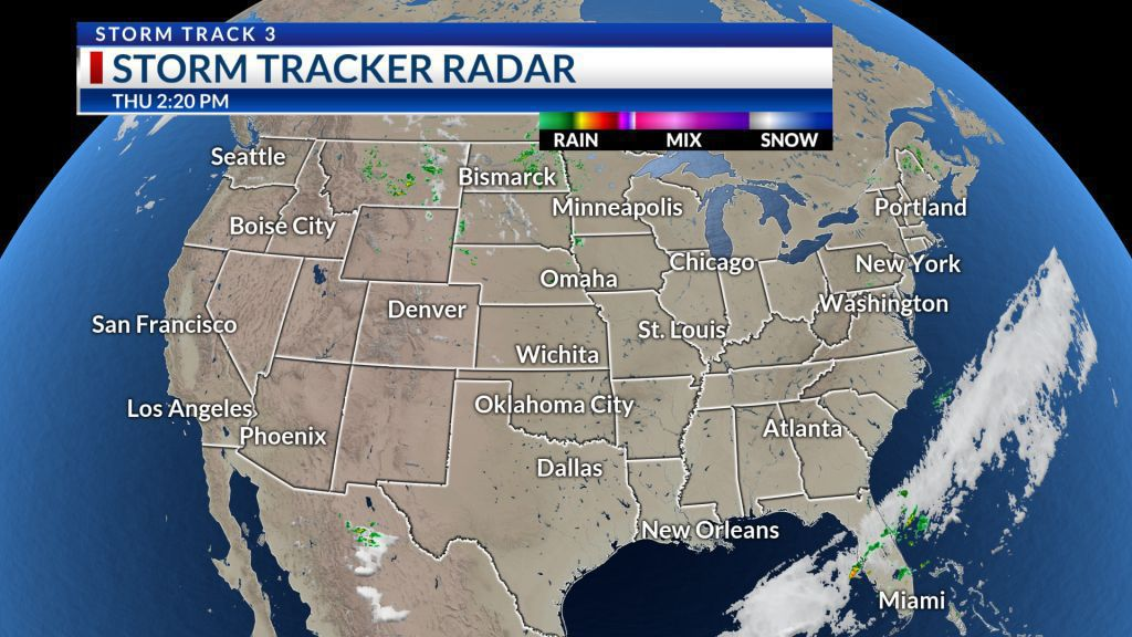 U S  Satellite / Radar Loop | KSN com