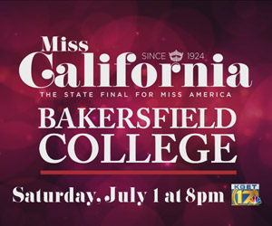 Miss California Pagent Saturday July 1 at 8pm on TV 17