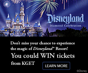 You could win tickets to the Disneyland Resort from KGET