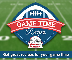 Game Time Recipes