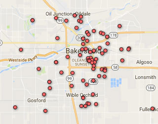 Interactive Homicide Tracker Map
