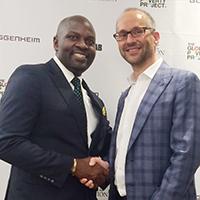 Twesigye Jackson Kaguri recieves Waitslitz award