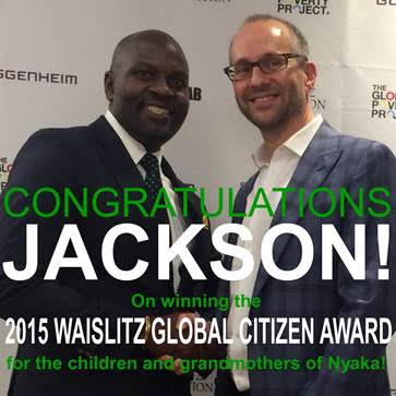 Congratulations Twesigye Jackson Kaguri