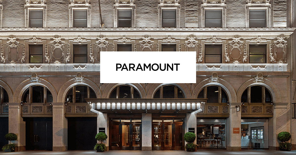 Hotels In Times Square New York Paramount Hotel Hotels Near Broadway Nyc