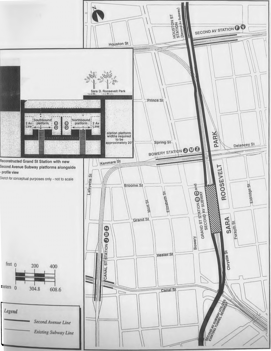 Second Avenue Subway Map New York City.Www Nycsubway Org 63rd Street Tunnel And The Second Avenue Subway