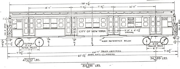 Nyc Subway Map 1932.Www Nycsubway Org The Independent Fleet 1932 1939