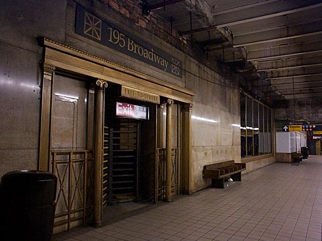 (131k, 640x480)<br><b>Country:</b> United States<br><b>City:</b> New York<br><b>System:</b> New York City Transit<br><b>Line:</b> IRT East Side Line<br><b>Location:</b> Fulton Street <br><b>Photo by:</b> Richard Brome<br><b>Date:</b> 3/18/1999<br><b>Viewed (this week/total):</b> 1 / 6762