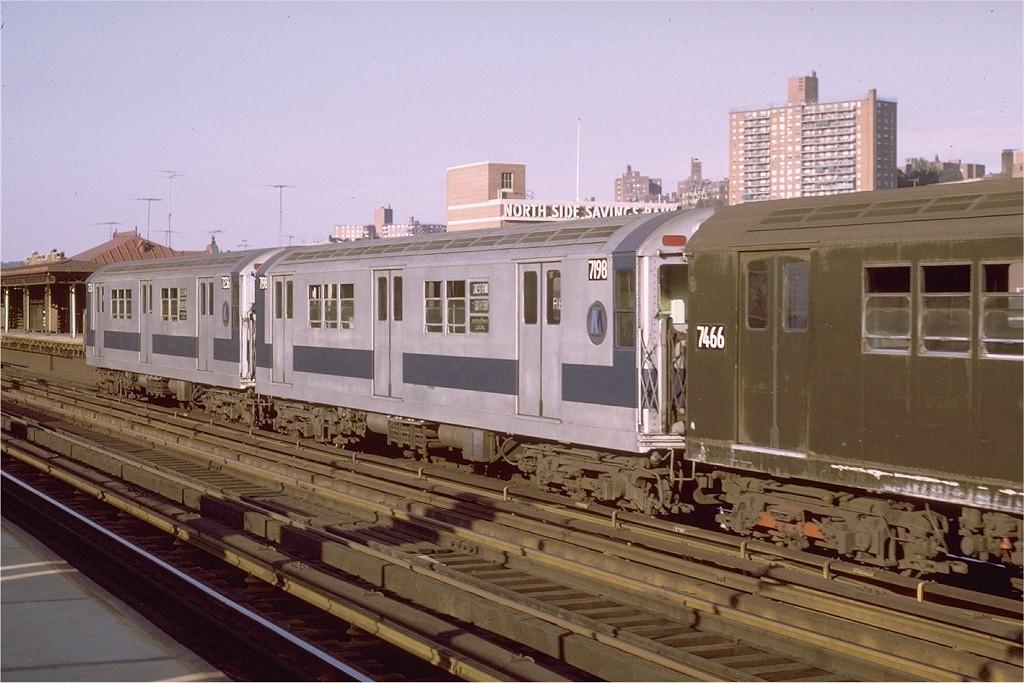 (187k, 1024x683)<br><b>Country:</b> United States<br><b>City:</b> New York<br><b>System:</b> New York City Transit<br><b>Line:</b> IRT West Side Line<br><b>Location:</b> 231st Street <br><b>Route:</b> 1<br><b>Car:</b> R-21 (St. Louis, 1956-57) 7198 <br><b>Photo by:</b> Joe Testagrose<br><b>Date:</b> 8/14/1971<br><b>Viewed (this week/total):</b> 1 / 2865