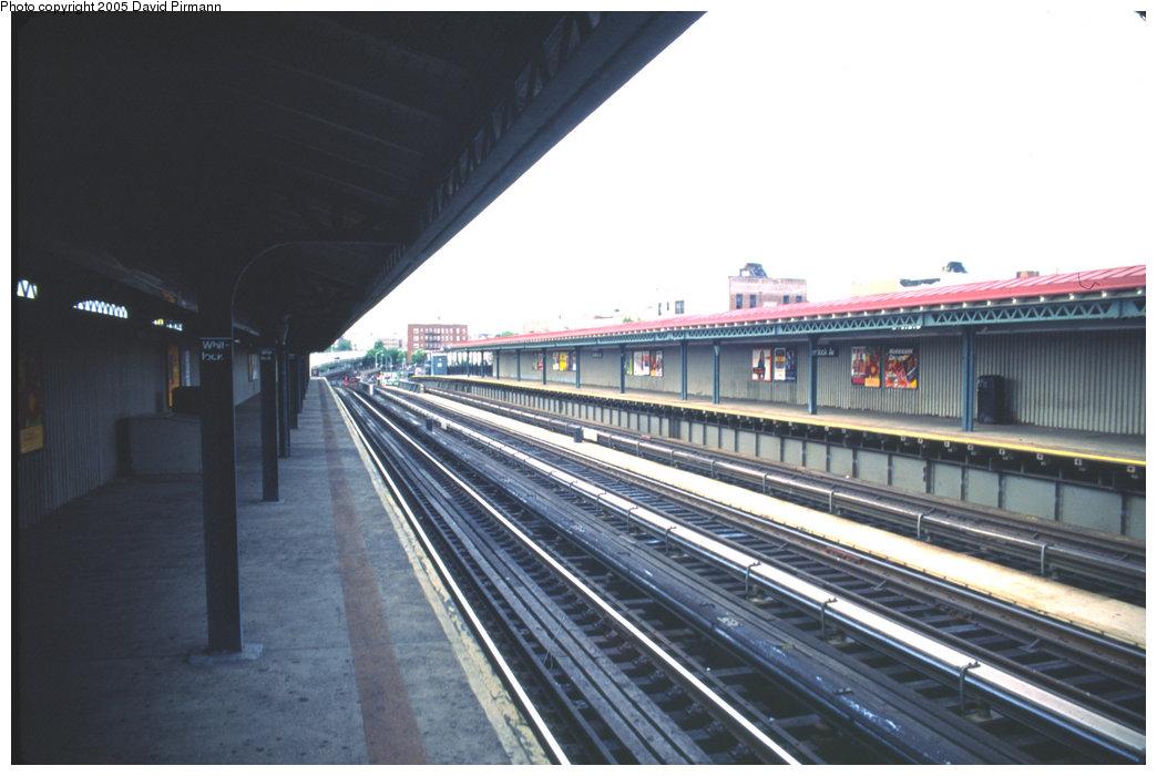 (159k, 1044x700)<br><b>Country:</b> United States<br><b>City:</b> New York<br><b>System:</b> New York City Transit<br><b>Line:</b> IRT Pelham Line<br><b>Location:</b> Whitlock Avenue <br><b>Route:</b> 6<br><b>Photo by:</b> David Pirmann<br><b>Date:</b> 7/21/1999<br><b>Viewed (this week/total):</b> 2 / 2835