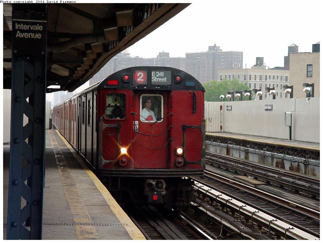 (133k, 1044x788)<br><b>Country:</b> United States<br><b>City:</b> New York<br><b>System:</b> New York City Transit<br><b>Line:</b> IRT White Plains Road Line<br><b>Location:</b> Intervale Avenue <br><b>Route:</b> 2<br><b>Photo by:</b> David Pirmann<br><b>Date:</b> 7/29/2000<br><b>Viewed (this week/total):</b> 1 / 4999