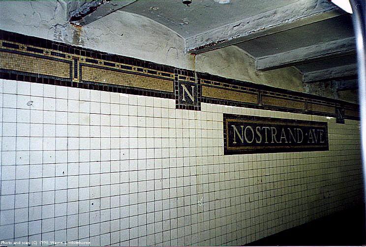 (107k, 744x502)<br><b>Country:</b> United States<br><b>City:</b> New York<br><b>System:</b> New York City Transit<br><b>Line:</b> IRT Brooklyn Line<br><b>Location:</b> Nostrand Avenue <br><b>Route:</b> 3<br><b>Photo by:</b> Wayne Whitehorne<br><b>Date:</b> 1/31/1998<br><b>Viewed (this week/total):</b> 1 / 4704