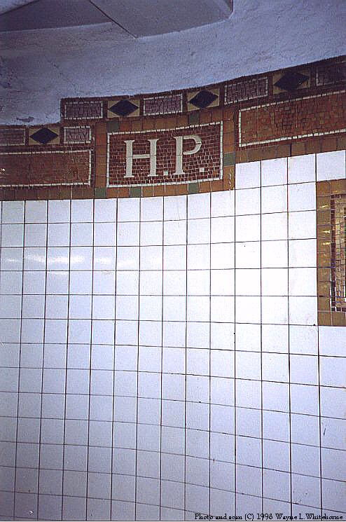 (87k, 494x745)<br><b>Country:</b> United States<br><b>City:</b> New York<br><b>System:</b> New York City Transit<br><b>Line:</b> IRT Flushing Line<br><b>Location:</b> Hunterspoint Avenue <br><b>Route:</b> 7<br><b>Photo by:</b> Wayne Whitehorne<br><b>Date:</b> 10/3/1998<br><b>Notes:</b> HP mosaic icon (Vickers)<br><b>Viewed (this week/total):</b> 1 / 2897