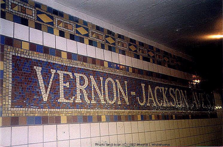 (108k, 745x492)<br><b>Country:</b> United States<br><b>City:</b> New York<br><b>System:</b> New York City Transit<br><b>Line:</b> IRT Flushing Line<br><b>Location:</b> Vernon-Jackson Avenues <br><b>Photo by:</b> Wayne Whitehorne<br><b>Date:</b> 8/29/1997<br><b>Viewed (this week/total):</b> 0 / 3480
